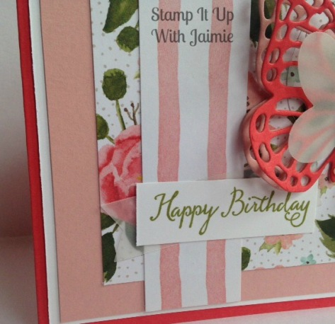 Happy Birthday - Stampin Up - Stamp It Up With Jaimie