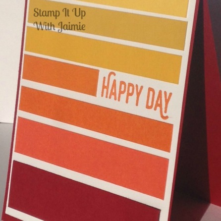 Happy Day - Stamp It Up With Jaimie - Stampin Up