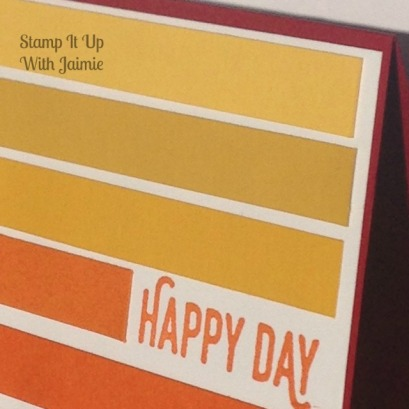 Happy Day - Stampin Up - Stamp It Up With Jaimie
