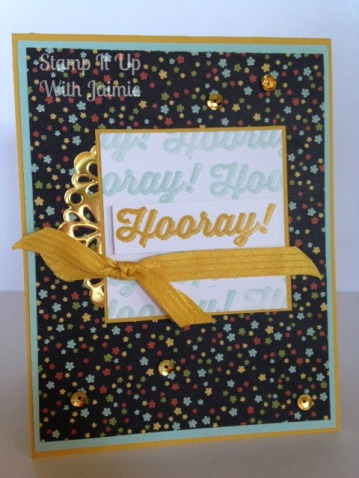Hooray - Stamp It Up With Jaimie - Stampin Up