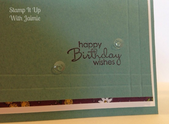 Pansy Punch - Stampin Up - Stamp It Up With Jaimie