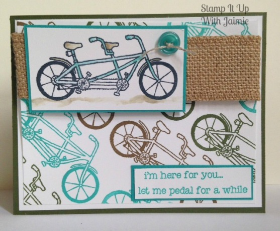 Pedal Pusher - Stamp It Up With Jaimie - Stampin Up