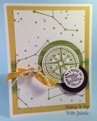 Stampin Up - Stamp It Up With Jaimie - Going Global - Sale A Bration