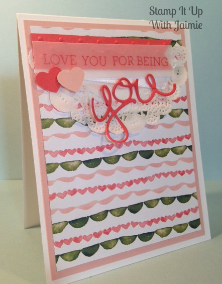 Stampin Up - Stampin It Up With Jaimie - Valentine's Day
