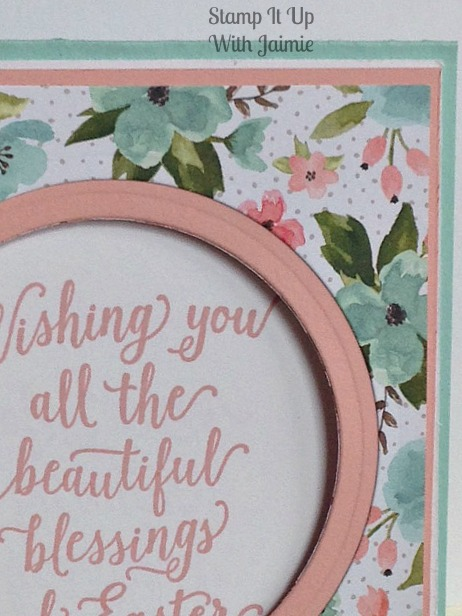 Blessings of Easter - Stampin Up - Stamp It Up With Jaimie
