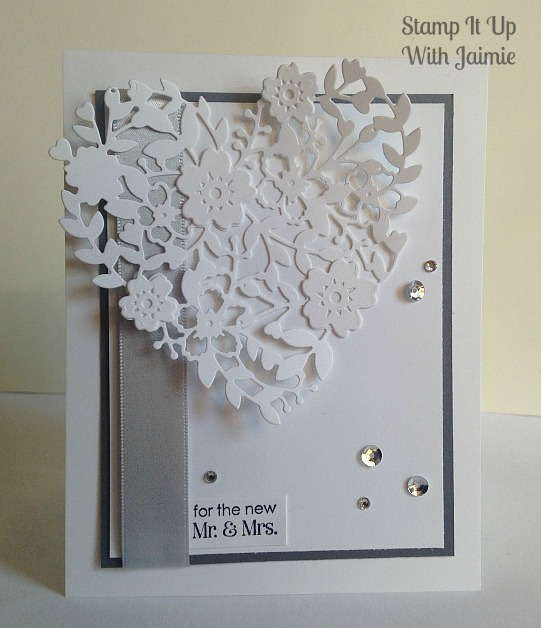 Bloomin Heart - Stamp It Up With Jaimie