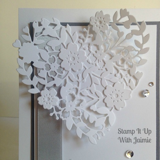 Bloomin Heart - Stampin Up