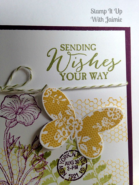 Butterfly Basics - Stamp It Up With Jaimie - Stampin Up