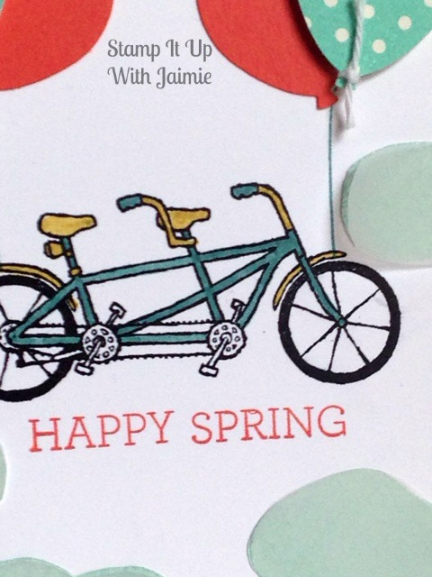 Happy Spring - Stamp It Up With Jaimie