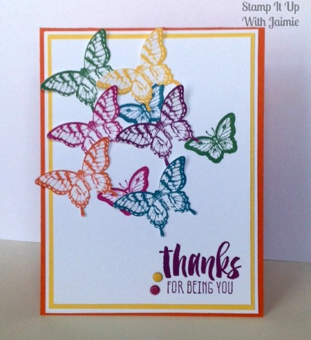 Papillon Potpourri - Stamp It Up With Jaimie