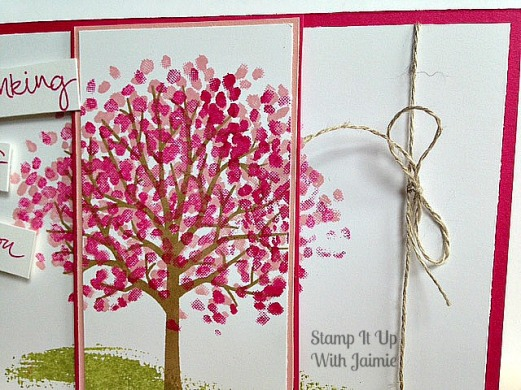 Sheltering Tree - Stamp It Up With Jaimie - Stampin Up