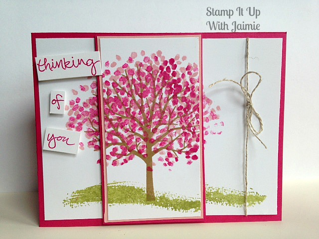 Sheltering Tree - Stamp It Up With Jaimie