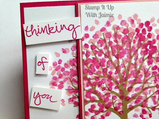 Thinking of You - Stamp It Up With Jaimie