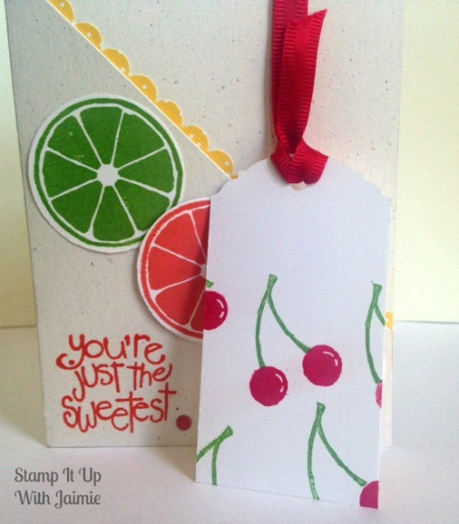 Apple Of My Eye - Fancy Fold - Stamp It Up With Jaimie - Stampin Up