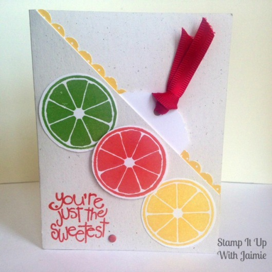 Apple of My Eye - Fancy Fold - Stamp It Up With Jaimie
