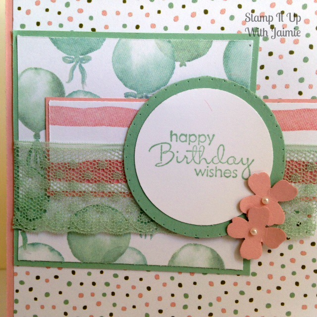 Birthday Bouquet - Stamp It Up With Jaimie - Stampin Up