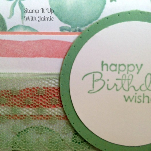 Birthday Bouquet - Stampin Up - Stamp It Up With Jaimie