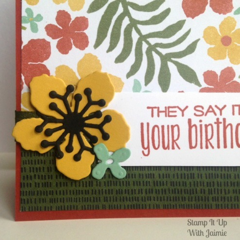Botanical Gardens - Stamp It Up With Jaimie - Stampin Up