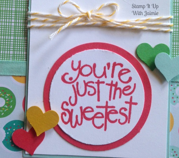 Cherry On Top - Stamp It Up With Jaimie - Stampin Up