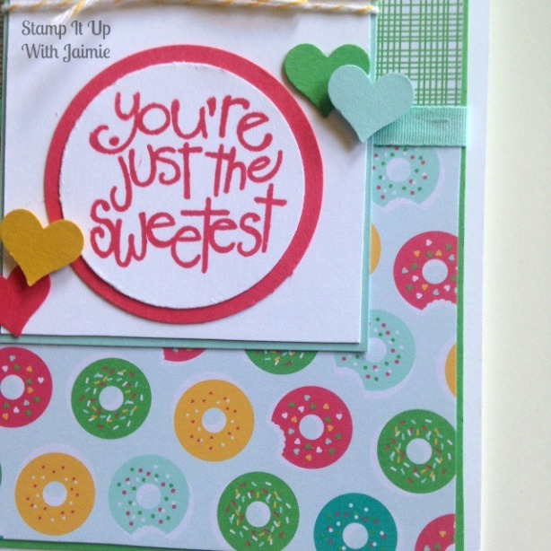 Cherry On Top - Stampin Up - Stamp It Up With Jaimie