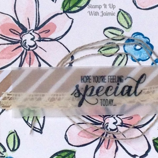 Garden in Bloom - Stamp It Up With Jaimie - Stampin Up