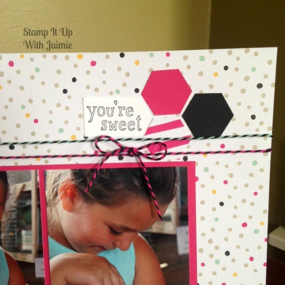 It's My Party - Scrapbook - Stampin Up With Jaimie