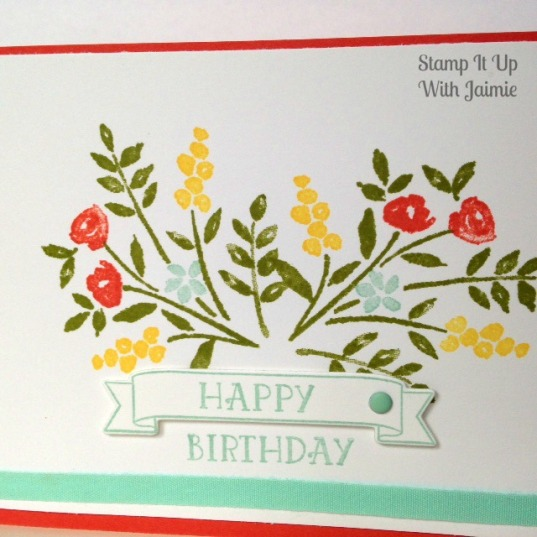 Number of Years - Stamp It Up With Jaimie - Stampin Up