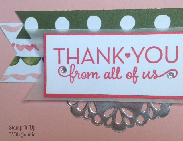 One Big Meaning - Stamp It Up With Jaimie - Stampin Up
