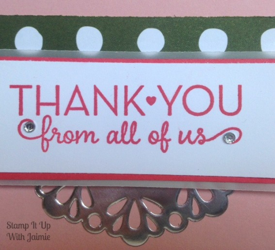 One Big Meaning - Stampin Up - Stamp It Up With Jaimie