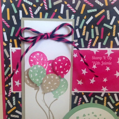 Party Wishes - Stamp It Up With Jaimie - Stampin Up