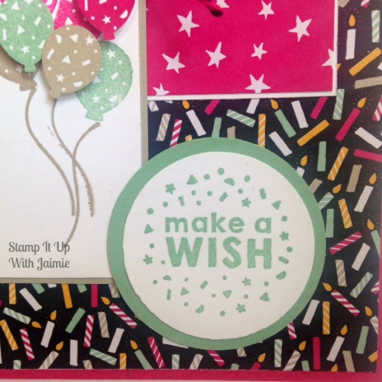 Party Wishes - Stampin Up - Stamp It Up With Jaimie