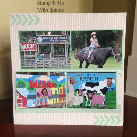 Scrapbook - Stamp It Up With Jaimie - It's My Party