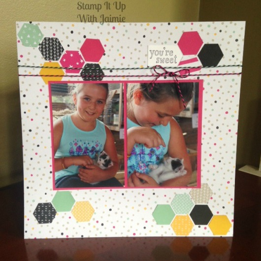 Stampin Up Scrapbook - Stamp It Up With Jaimie