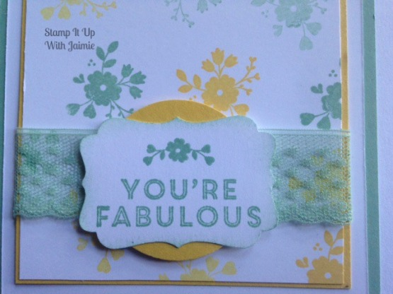 A Whole Lot of Lovely - Stamp It Up With Jaimie - Stampin Up