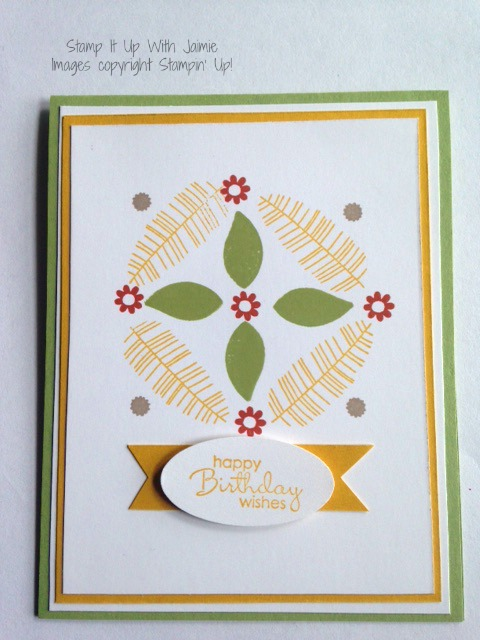 Botanical Blooms - Stamp It Up With Jaimie