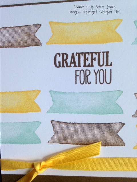 For All Things - Stamp It Up With Jaimie - Stampin Up