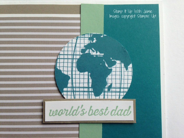 Going Global - Stamp It Up With Jaimie - Stampin Up