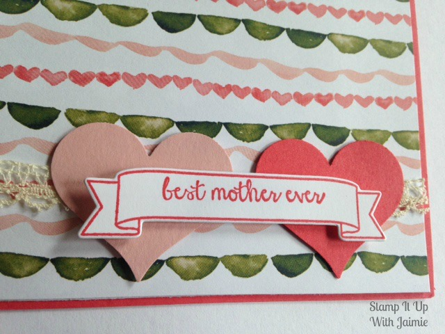 Mother's Day - Stamp It Up With Jaimie- Stampin Up
