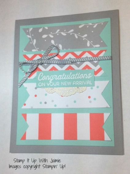 A Little Foxy - Stampin Up - Stamp It Up With Jaimie