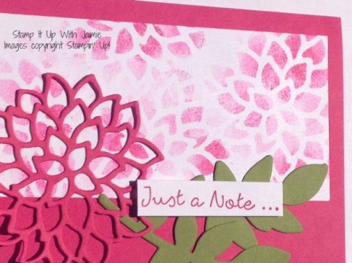 Falling Flowers - Stampin Up - Stamp It Up With Jaimie