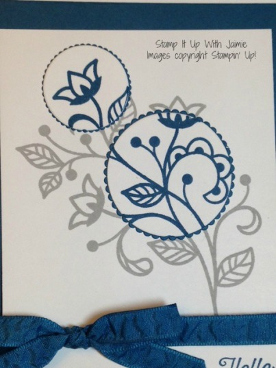 Flourishing Phrases - Stamp It Up With Jaimie - Stampin Up