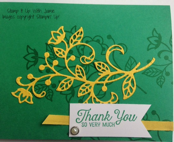 Flowering Phrases - Stamp It Up With Jaimie - Stampin Up
