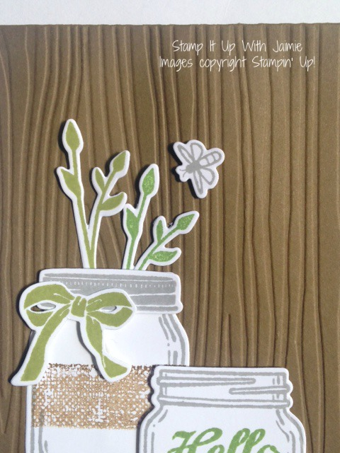 Jar of Love - Stamp It Up With Jaimie - Stampin Up