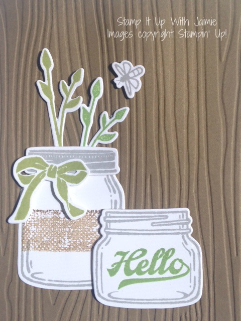 Jar of Love - Stampin Up - Stamp It Up With Jaimie