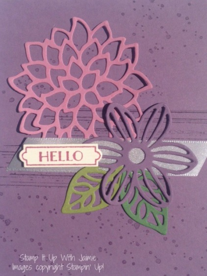 May Flowers - Stamp It Up With Jaimie - Stampin Up