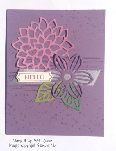 May Flowers - Stamp It Up With Jaimie