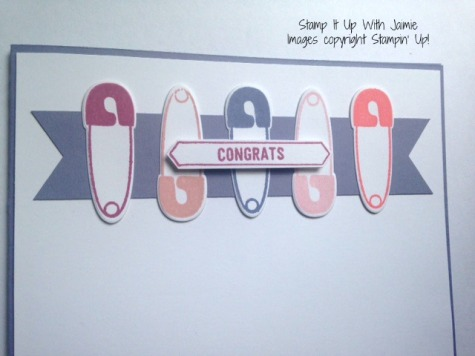 Something For Baby - Stampin Up - Stamp It Up With Jaimie