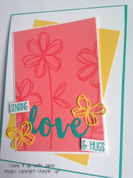 Sunshine Sayings - Stampin Up - Stamp It Up With Jaimie