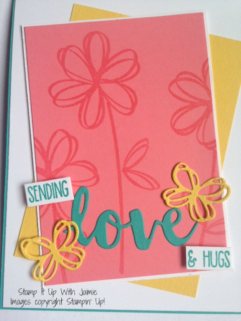 Sunshne Sayings - Stamp It Up With Jaimie - Stampin Up