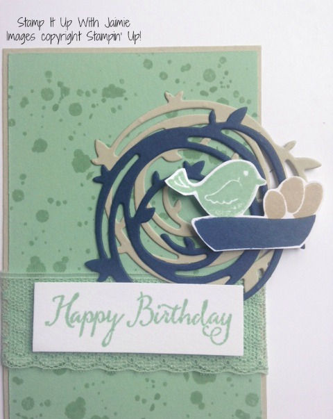Swirly Bird - Stamp It Up With Jaimie - Stampin Up